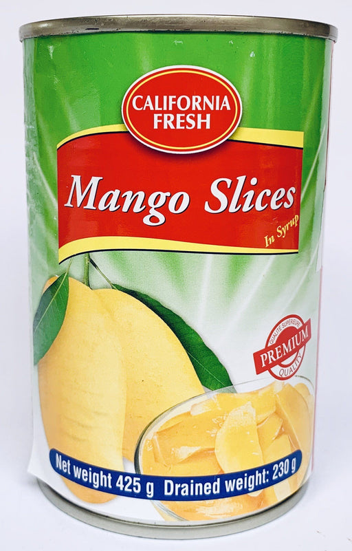 California Fresh Mango Slices in Syrup 425g Canned Fruit California Fresh