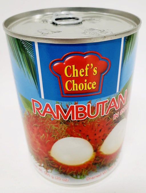 Chef's Choice RAMBUTAN in Syrup 565g Grocery Chef's Choice