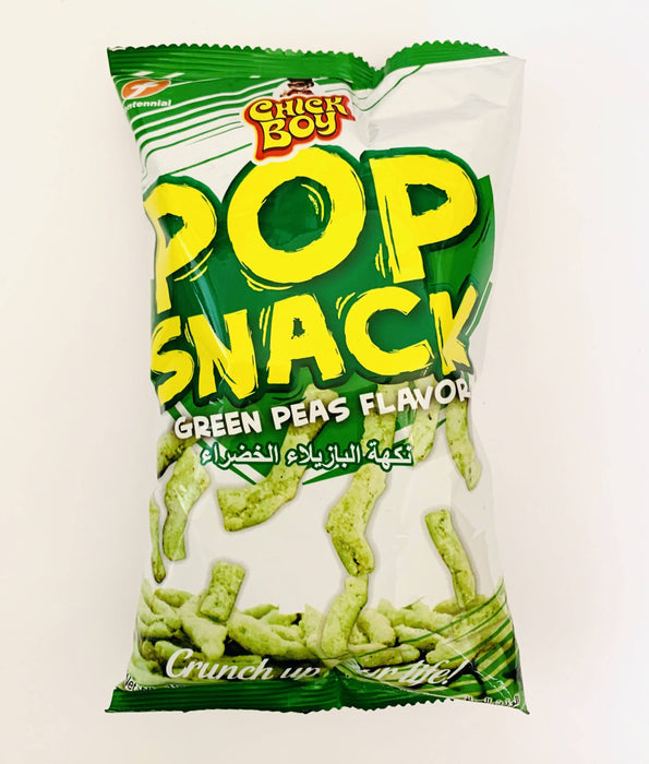 Chick Boy POP SNACK GREEN PEAS FLAVOR 100g
