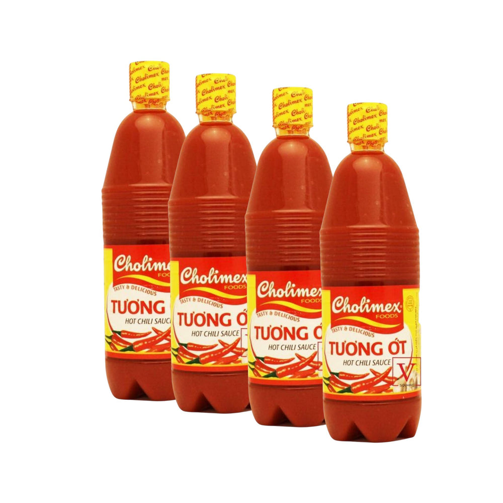 Cholimex Hot Chili Sauce Tuong Ot 830g-Pack of 4