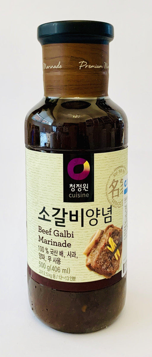 Chung Jung One BEEF GALBI Marinade 500g Sauce Chung Jung One