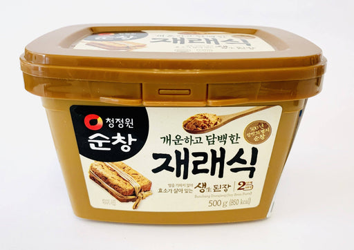 Chung Jung One Soybean Paste Korean MISO (BROWN) 500g Sauce Chung Jung One