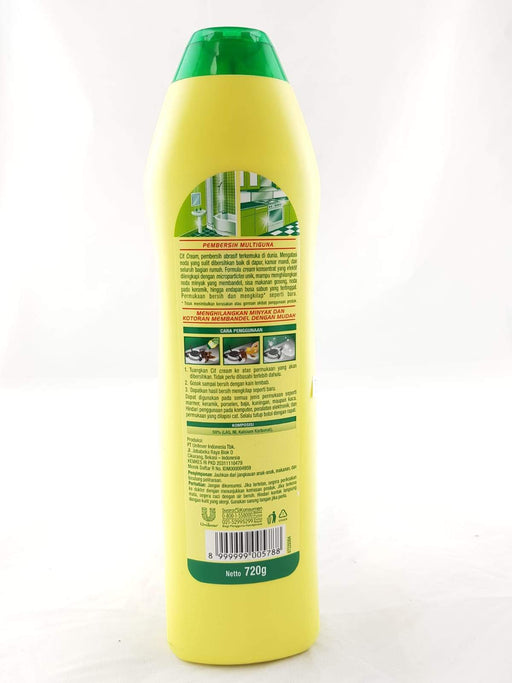 Cif Cream Lemon 720ml - Yin Yam - Asian Grocery