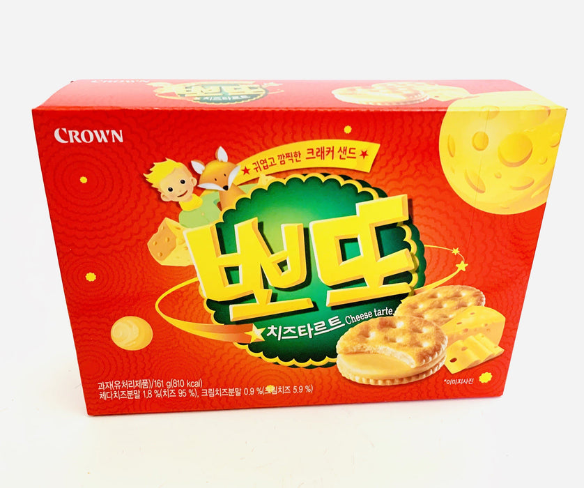 Crown Cheese Tarte Biscuit 161g