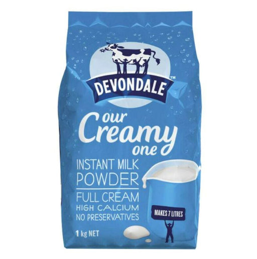 Devondale Full Cream Instant Milk Powder 1kg - Yin Yam - Asian Grocery