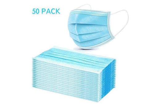 Disposable Masks 3ply-Pack of 50 - Yin Yam - Asian Grocery
