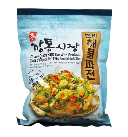 Hansang FROZEN Green Onion Pancake With Seafood 450g