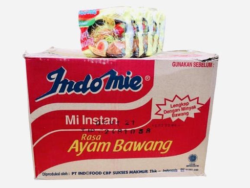 Indomie AYAM BAWANG Chicken Onion Instant Noodles (69g x 5 Packs)-Carton x 8 Instant Meals Indomie