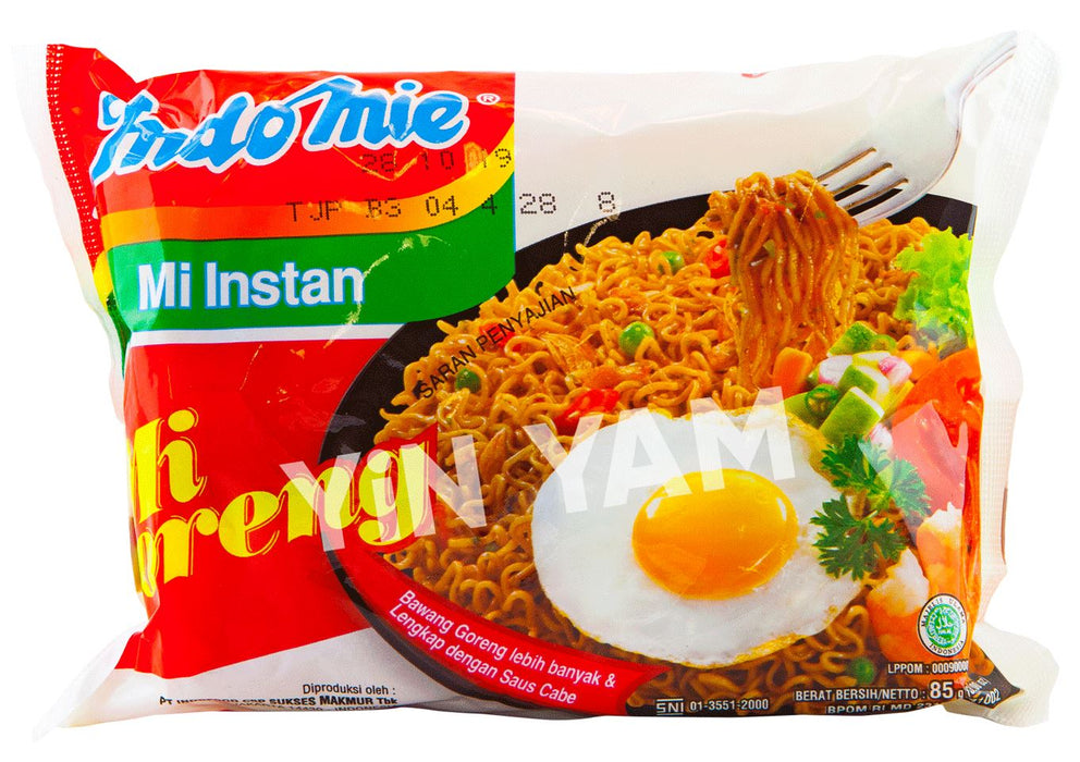 Indomie Mi Goreng Fried Noodles 85g-Pack of 15 - Yin Yam - Asian Grocery