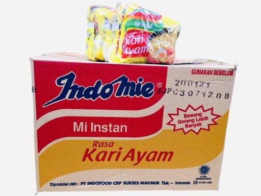 Indomie RASA KARI AYAM Curry Chicken Instant Noodles (72g x 5 Packs)-Carton x 8 Instant Meals Indomie