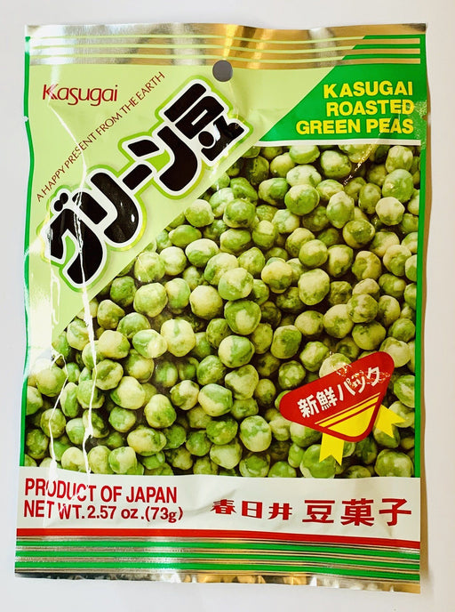 Kasugai Roasted Green peas 73g