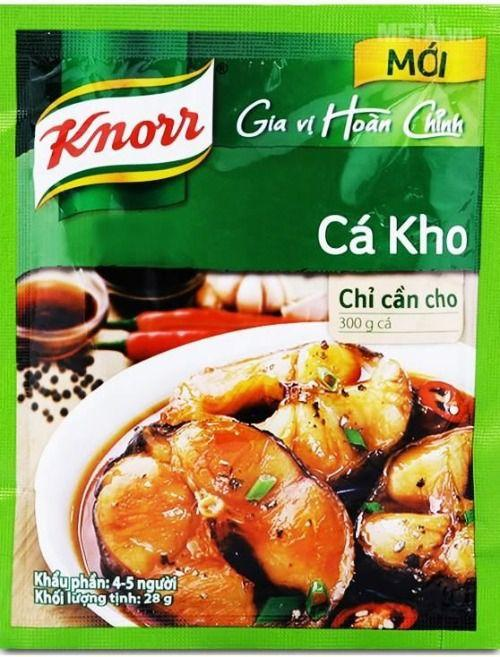Knorr Ca Kho Seasoning 28g - Yin Yam - Asian Grocery
