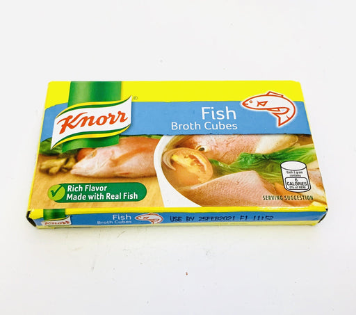 Knorr FISH Broth Cubes 60g 6 CUBES