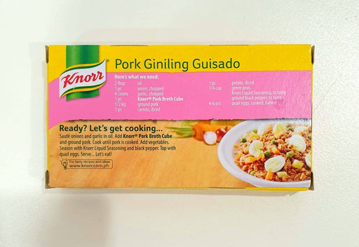 Knorr PORK Broth Cubes 60g 6 CUBES