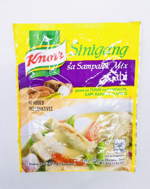 Knorr Sinigang GABI Tamarind Soup Mix with Taro 44g