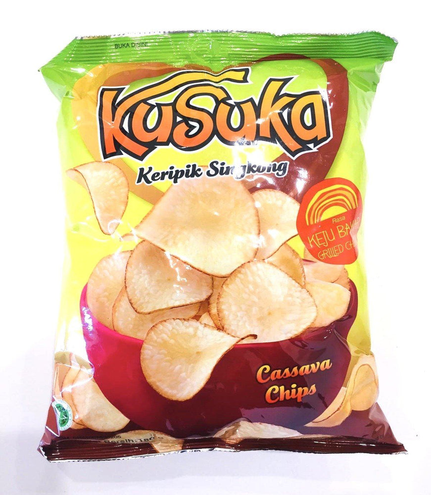 Kusuka Cassava Chips Grilled Cheese KEJU BAKAR 200g