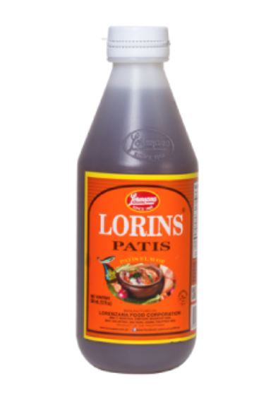 Lorenzana Lorins Patis Fish Sauce 350ml