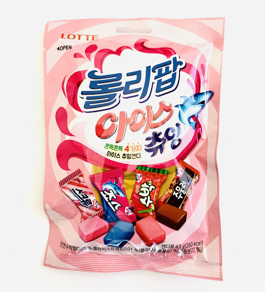 Lotte Lollipop Ice Chewing Candy 63g