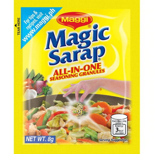 Maggi Magic Sarap ALL-IN-ONE Seasoning Granules (8g x 12pack) - Yin Yam - Asian Grocery