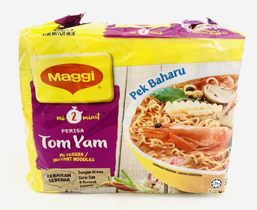Maggi Noodle TOM YAM Instant Noodles 5pack (80gx5)