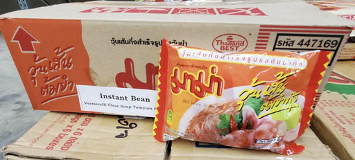 Mama BEAN VERMICELLI Tom Yum Flavour 40g-Pack of 30