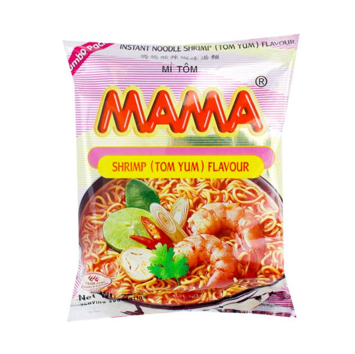 Mama Instant Noodles TOM YUM SHRIMP 90g-Pack of 24 - Yin Yam - Asian Grocery
