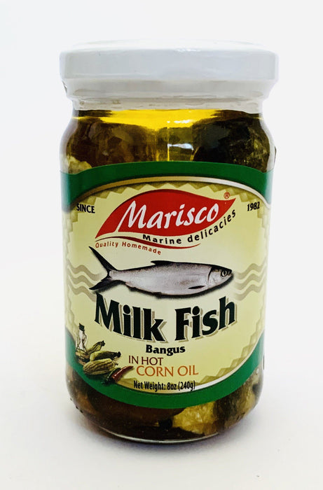 Marisco Milk Fish BANGUS in Hot Corn Oil 240g