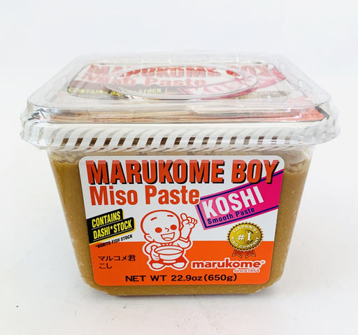 Marukome Boy Miso Paste KOSHI Smooth Paste 650g