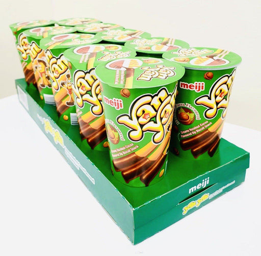 Meiji Yan Yan HAZELNUT 50g-Pack of 10