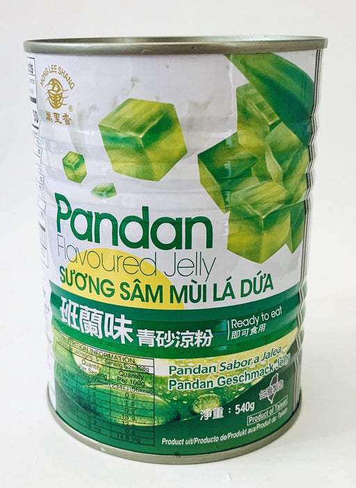 Mong Lee Shang PANDAN FLAVOURED JELLY 540g Grocery Mong Lee Shang
