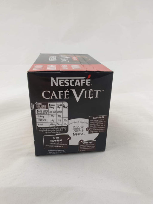 Nescafe Cafe Viet CA PHE DEN DA 240g (15 x 16g) - Yin Yam - Asian Grocery