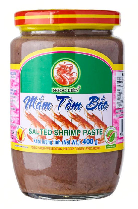 Ngoc Lien Mam Tom Bac Salted Shrimp Paste 400g - Yin Yam - Asian Grocery