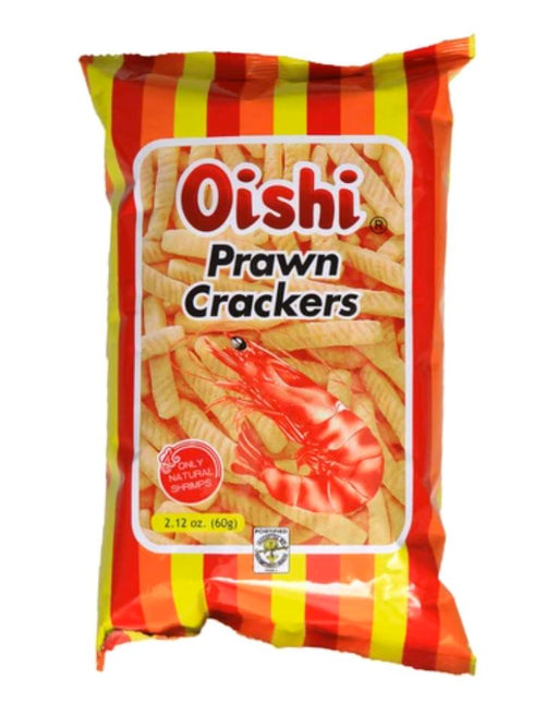 Oishi Prawn Crackers Classic 60g SMALL