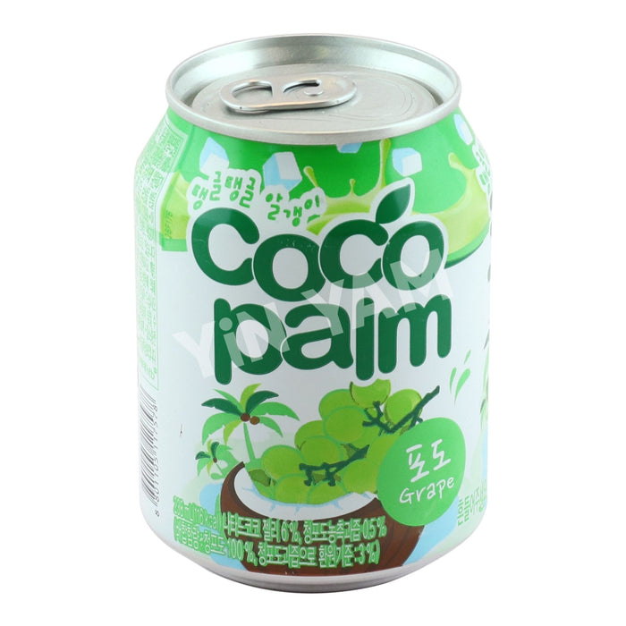 Haitai Bon Bon Cocopalm Grape Juice 238ml - Yin Yam - Asian Grocery