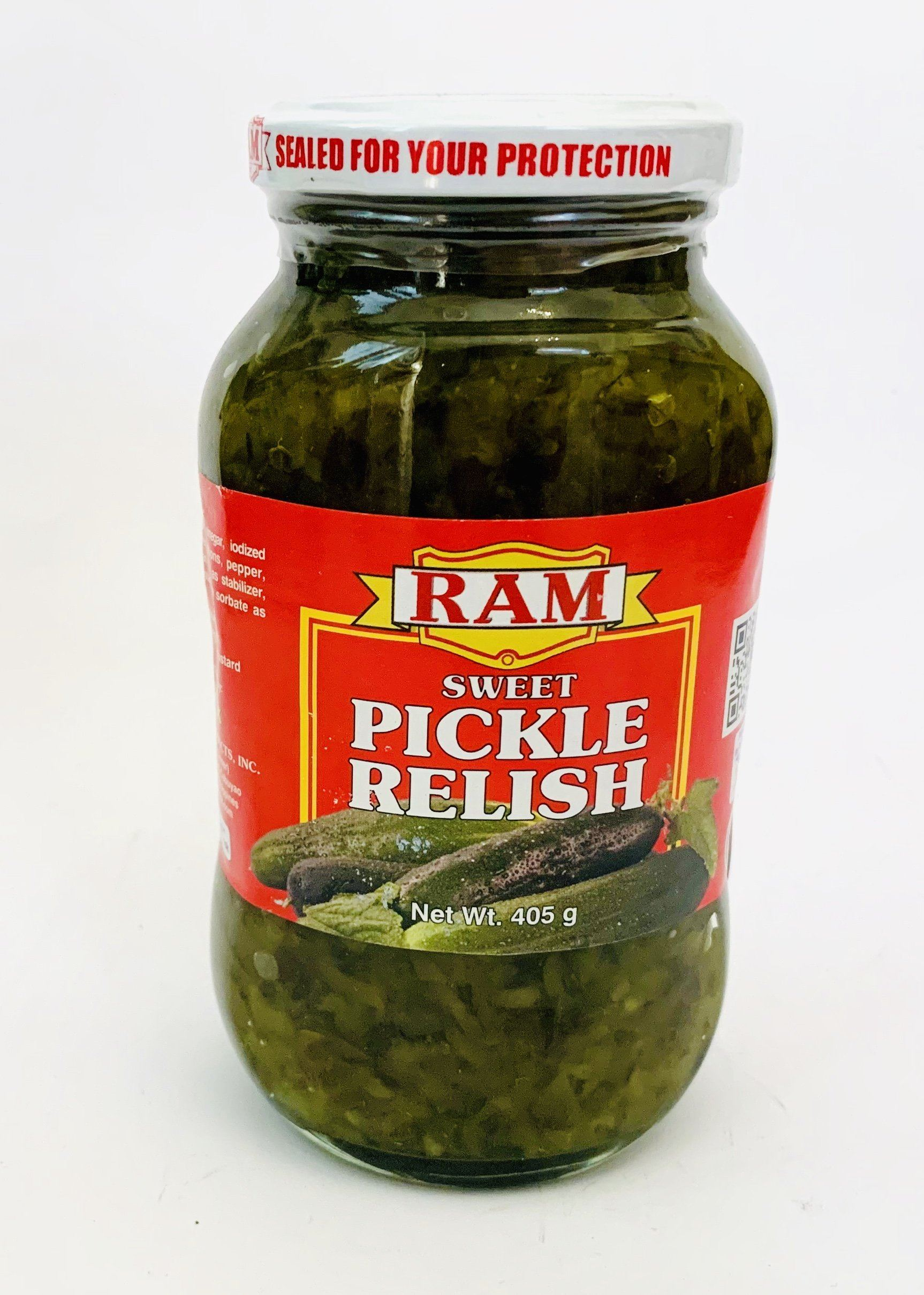 Ram Sweet Pickle Relish 405g Yin Yam Asian Grocery