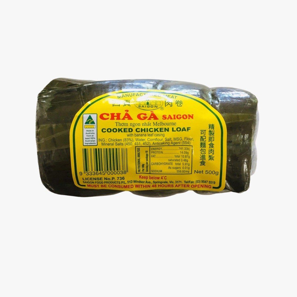 Saigon Food CHILLED CHA GA SAIGON Cooked Chicken Loaf 500g