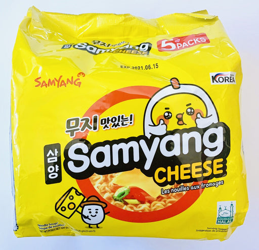 Samyang CHEESE Instant Noodle Soup 120g x 5packs