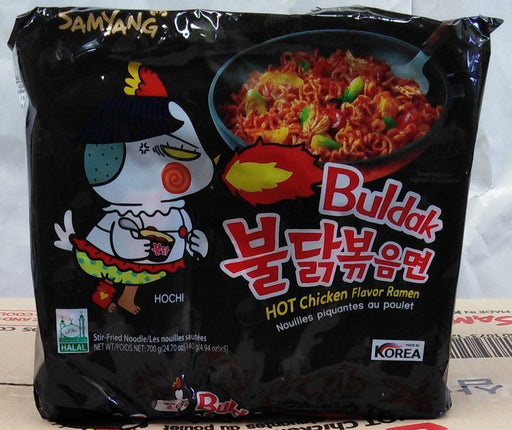 Samyang Hot Chicken Flavor Ramen 140g x 5packs