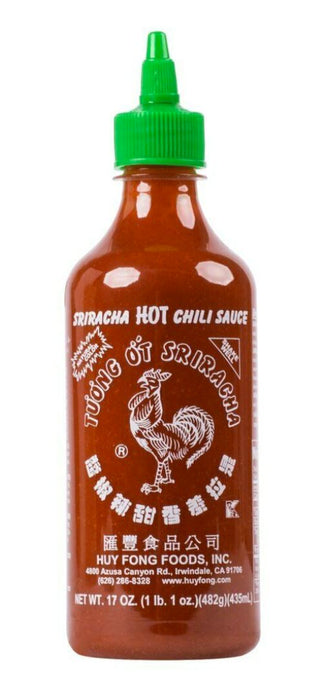 Sriracha Hot Chili Sauce 17oz 482g - Yin Yam - Asian Grocery