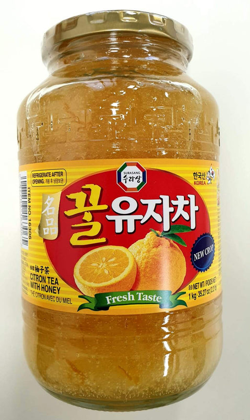 Surasang Wang Citron Tea with Honey 1kg - Yin Yam - Asian Grocery