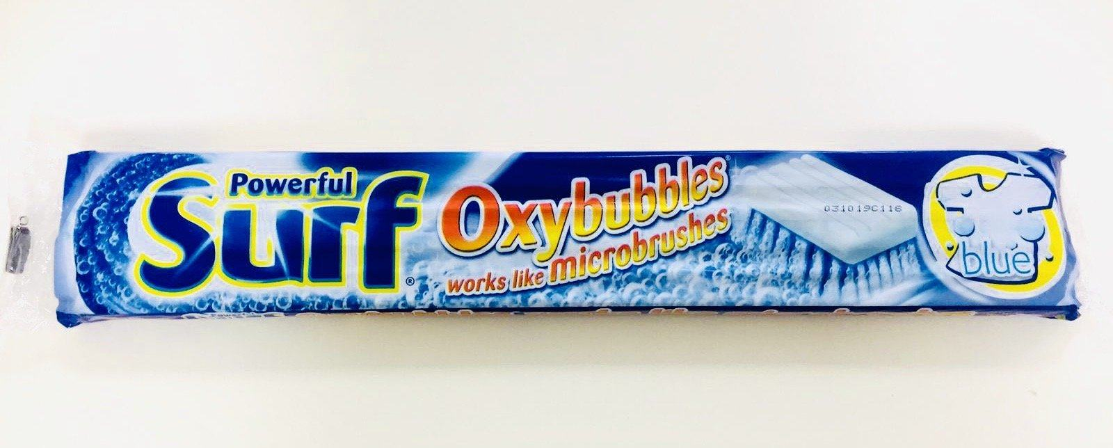 Surf Powerful Oxybubbles works like Microbrushes BLUE 380g