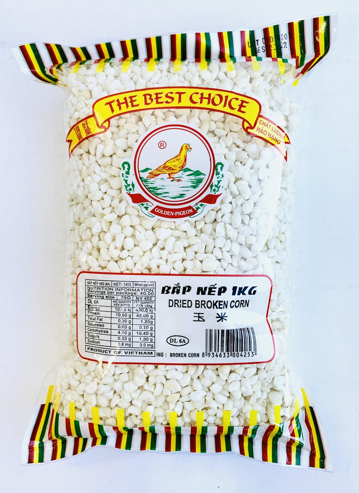 The Best Choice BAP NEP Dried Broken Corn 1kg