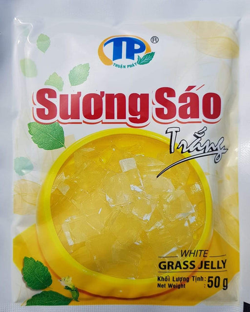 TP White Grass Jelly Powder 50g - Yin Yam - Asian Grocery