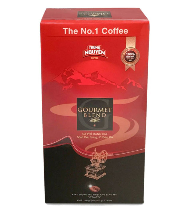 Trung Nguyen Roasted Ground Coffee Gourmet Blend 500g - Yin Yam - Asian Grocery