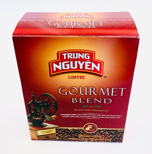 Trung Nguyen Roasted Ground Coffee GOURMET BLEND 500g EE