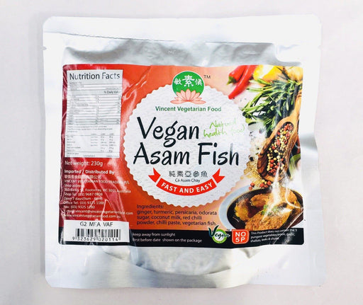 Vincent Vegetarian Food ASAM FISH 230g