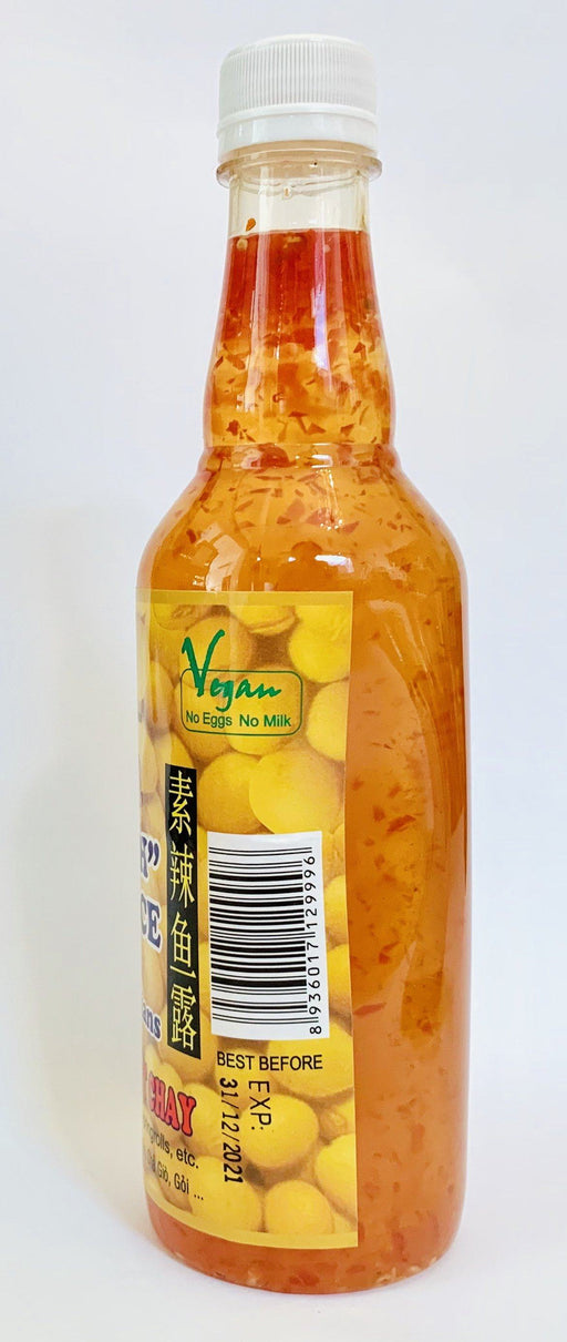 Vincent Vegetarian Food CHILLI FISH SAUCE for Vegetarians NUOC MAM OT CHAY 500ML