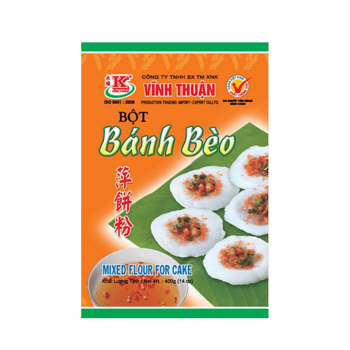 Vinh Thuan Bot Banh Beo Mixed Flour for Cake 400g - Yin Yam - Asian Grocery