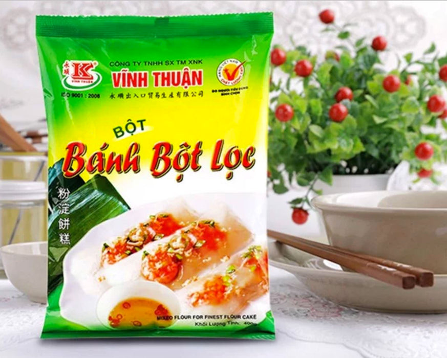 Vinh Thuan Banh Bot Loc Mixed Flour for Finest Flour Cake 400g - Yin Yam - Asian Grocery