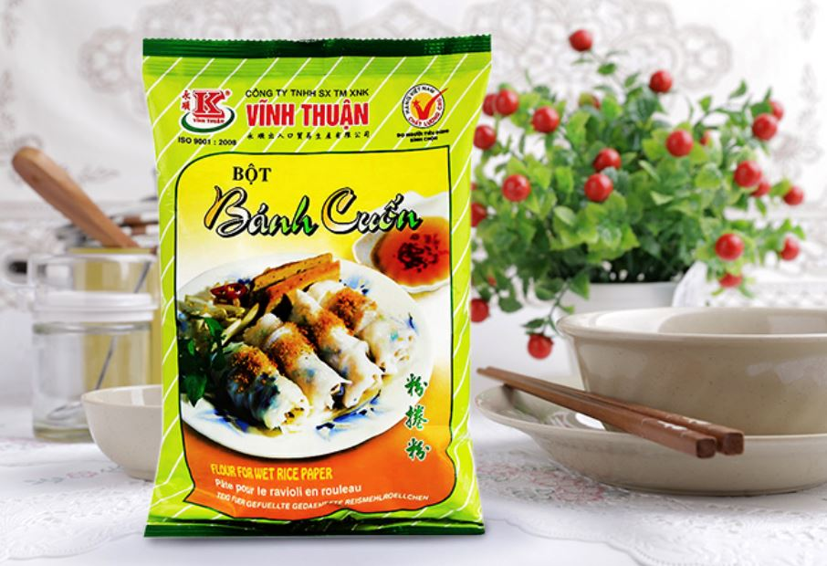 Vinh Thuan Bot Banh Cuon Flour for Wet Rice Paper 400g - Yin Yam - Asian Grocery